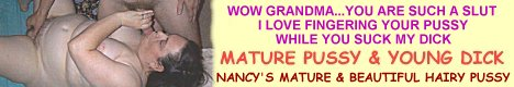 Nancy...The KINKIEST MATURE HAIRY PUSSY on the Net
