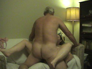 Nancy and Hubby on their Web Cam